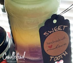 Dazed And Confused Triple Layer Scented Candle Sweet Tooth Scents