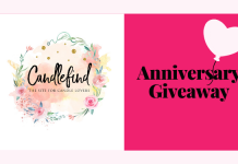 Candlefind Anniversary Giveaway