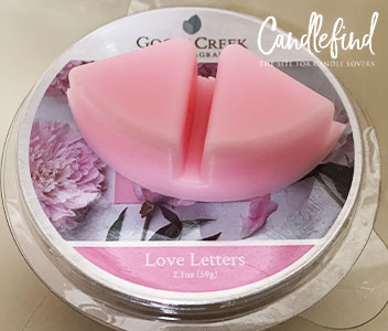 Goose Creek Love Letters Wax Melts