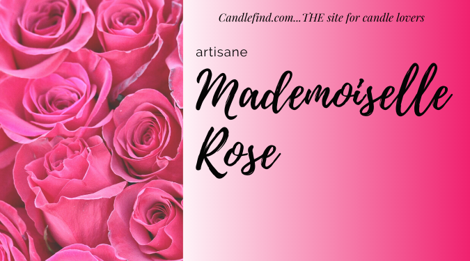Mademoiselle Rose candle review