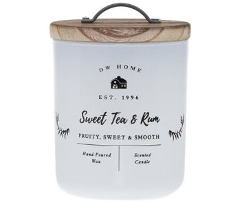 Sweet Tea & Rum candle from DW Candles