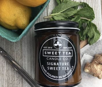 Signature Sweet Tea Candle from Sweet Tea Candle Co.