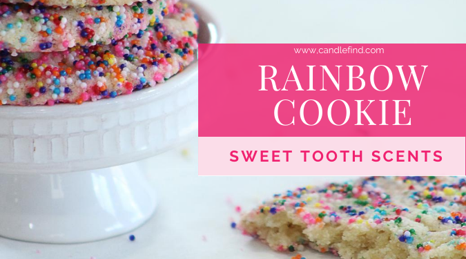 Rainbow Cookie candle Sweet Tooth Scents