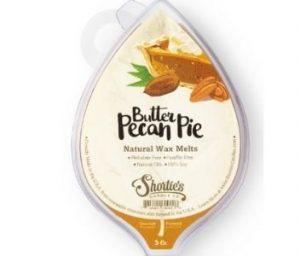shortie's butter pecan pie wax melt