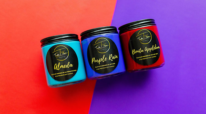 Treble and Flamme Candle Company