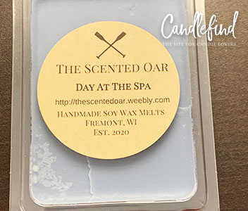 The Scented Oar Day at the Spa Wax Melts