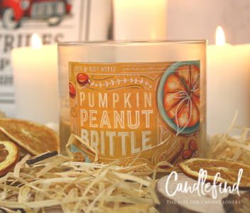 B&BW Pumpkin Peanut Brittle Candle