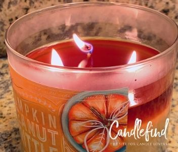 Bath & Body Works Pumpkin Peanut Brittle Candle