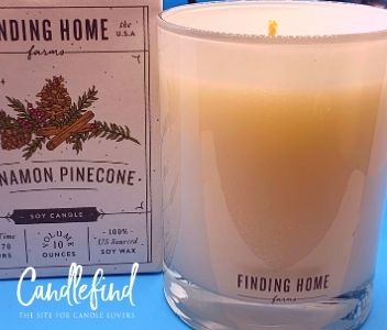 Finding Home Farms Cinnamon Pinecone Candle