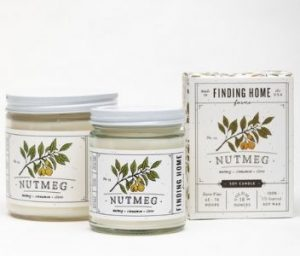 Nutmeg candle Finding Home Farms