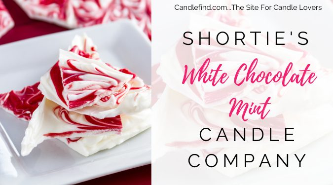 White Chocolate Mint Wax melts Shortie's Candle Company