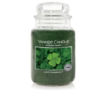 Yankee Candle Lucky Shamrock