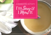 A Mandatory Activity I'm Sexy & I Mow It Candle