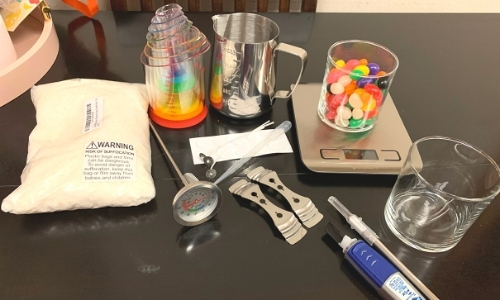 CF DIY Jelly Bean Candle Step 1