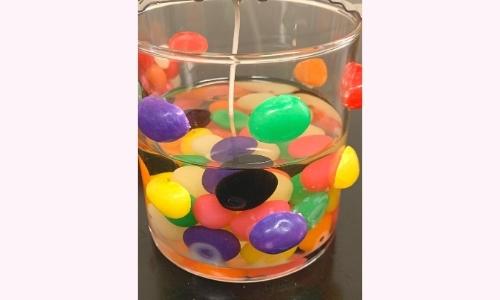 Candlefind DIY Jelly Bean Candle Step 4