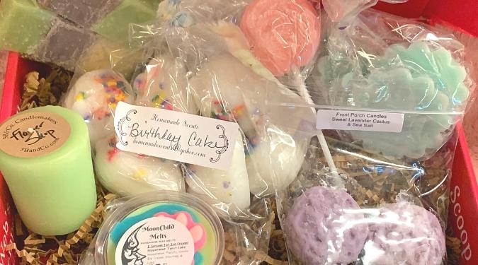 Candlefind April Subscription Box Theme - Pastel Pops