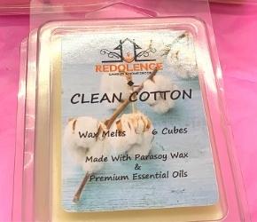 Redolence Candle Shop Clean Cotton Wax Melts