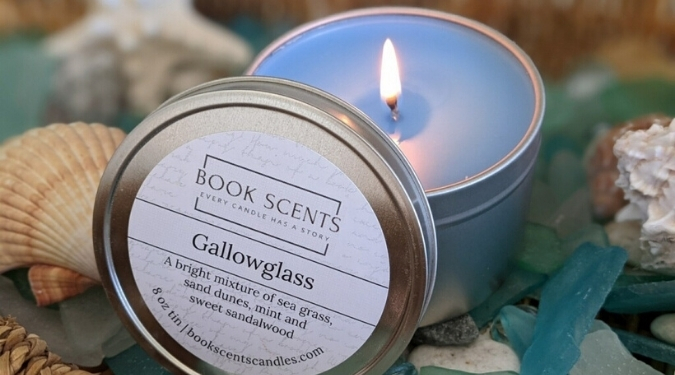 Book Scents Candles