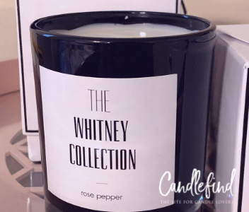 The Whitney Collection Rose Pepper Candle