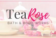 B&BW Tea Rose Candle