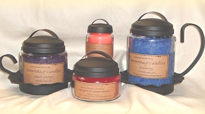 Brown Bag Candles