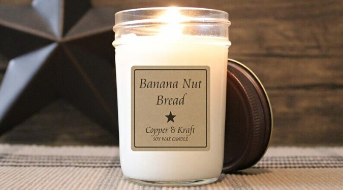 Copper & Kraft Candle