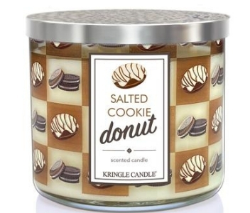 Salted Cookie Donut Candle, Kringle Candle