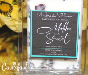 Ambrosia Flame Malibu Sunset Wax Melts