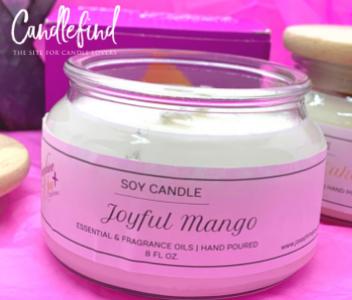 Josephine Joy Candles Joyful Mango