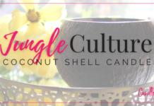 Jungle Culture Coconut Shell Candle
