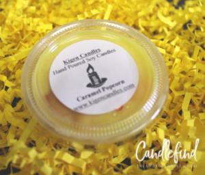 Kigen Candles Caramel Popcorn Wax Melts