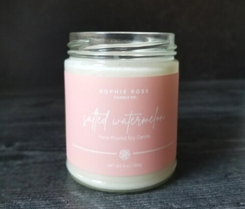 Salted Watermelon Candle Sophie Rose
