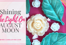 Shining the Light on August Moon Candles
