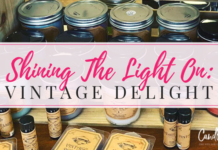 Shining the Light on Vintage Delights Candle Company