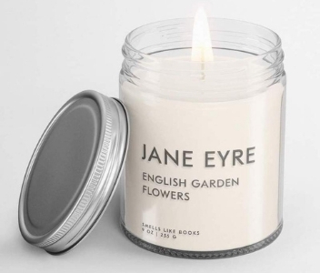 Smells Like Books Jane Eyre Candle