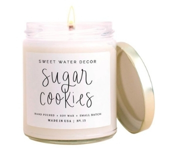 Sweet Water Decor, Sugar Cookies Candle