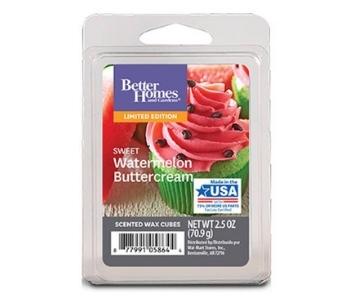 Sweet Watermelon Buttercream Wax Cubes, Better Homes & Gardens