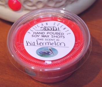Watermelon melts from Pelican Scents