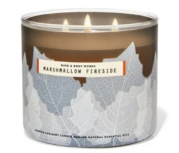 B&BW Marshmallow Fireside Candle