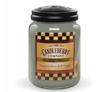 Candleberry, Marshmallows & Embers Candle