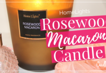 HomeLights Rosewood Macaron Candle Review