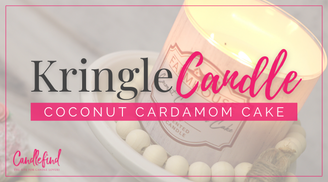 Kringle Candle Coconut Cardamom Cake Candle Review