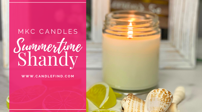 MKC Candles Summertime Shandy Candle Review