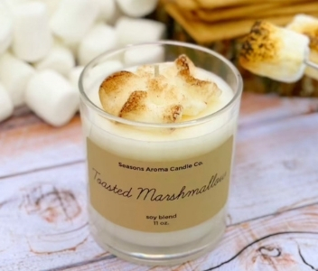 Season's Aromas Toasted Marshmallow Candle