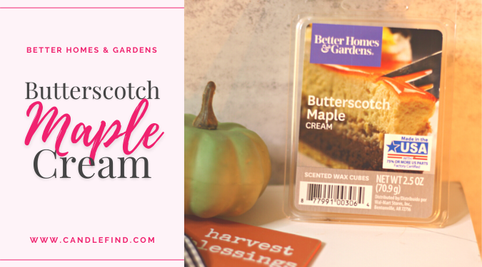 BH&G Butterscotch Maple Cream Review