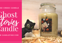 Goose Creek Ghost Stories Candle Review