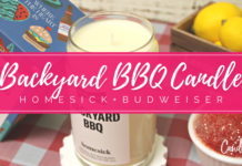 Homesick + Budweiser Backyard BBQ Candle Review
