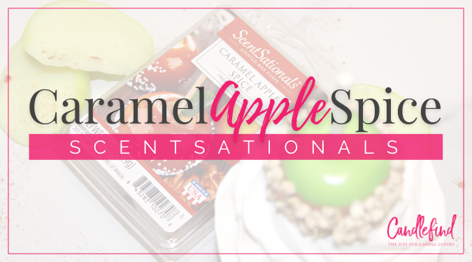 ScentSationals Caramel Apple Wax Melts Review by Candlefind