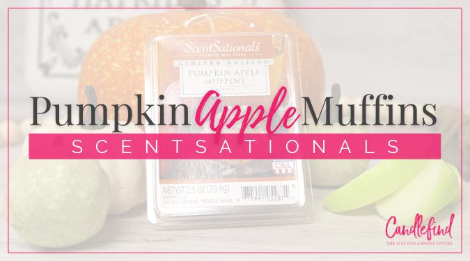 ScentSationals Pumpkin Apple Muffins Wax Melts Review