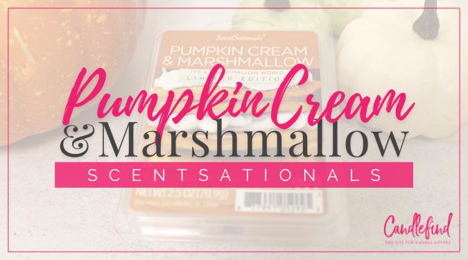 ScentSationals Pumpkin Cream & Marshmallow Wax Melts Review
